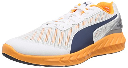 Puma Ignite Ultimate, Scarpe da Corsa Uomo Weiß (White-orange Pop-blue Wing Teal 04)