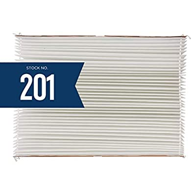Aprilaire 201 Replacment Filter for Aprilaire Whole House Air Purifier Models: 2200, 2250, Space Gard 2200, MERV 10