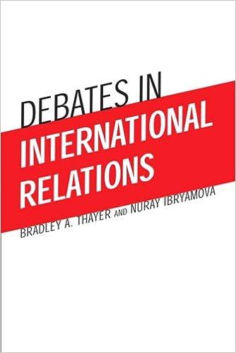 Amazon com: Debates in International Relations