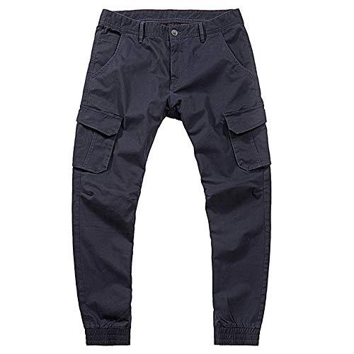 Crayon Salopette poches Pour En Hommes Bleu La Multi Coton Décontracté À Mode Holywin Pantalon w7qAp7T