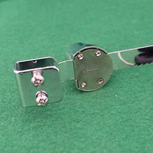 plata GreceMonday Duradera del reptil terrario Vivarium Exhibidor Expositor para puertas corredizas de cristal Ventana de bloqueo con 2 llaves del gabinete