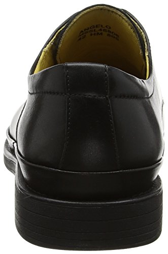 Steptronic Hombres Angelo Formal Con Cordones Negro