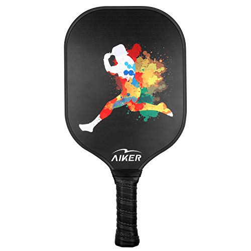 Boealzhl Pickleball Paddle Graphite Pickleball Racket Honeycomb Composite Core
