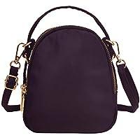 Small Crossbody bag,Volganik Rock Multi Pocket Cell Phone Purse Wallet Water Resistant Nylon Handbag for Women