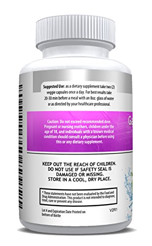 GARCINIA FOR HER 100% Pure Garcinia Cambogia 95% HCA ULTRA 1400mg, Appetite Suppressant, Weight Loss, Belly Fat Burner, Weight Loss Pills, Lose Weight Fast For Women, Fat Burner, Diet Pills