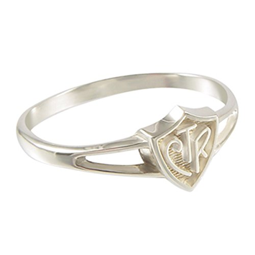 "Choose The Right CTR Ring ""Saturn"" Sterling Silver Size (2.5 11)"