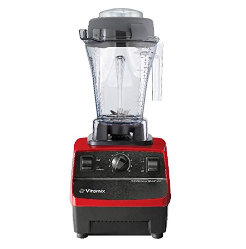 Vitamix Professional Series 200 Blender - Ruby Red (Vitamix Professional 200)