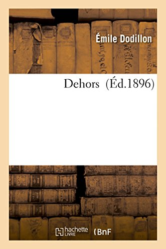 Dehors (Litterature) (French Edition)