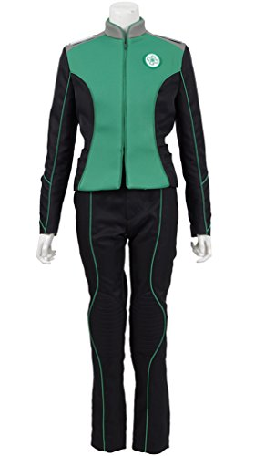 Hot Sale Cosplay Costume Warship Suits Womens Mens Uniform for Halloween (XXL, Green(Woman))