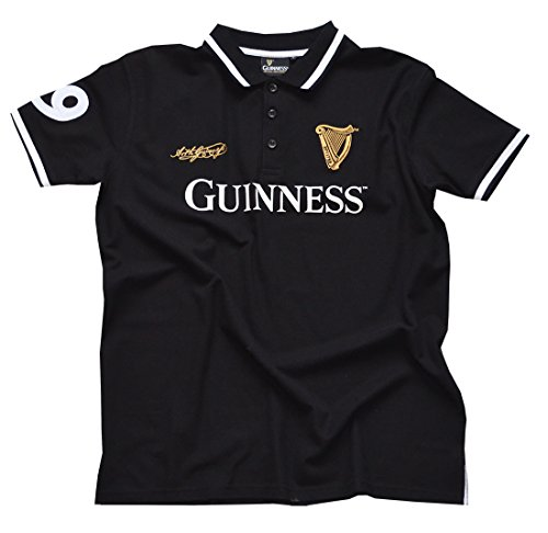 Guinness Black 59 Polo Shirt (S-XX Large) (Small)