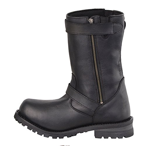 Milwaukee , Leather , Milwaukee Herren Stiefel schwarz schwarz Größe 9 4b1ae6