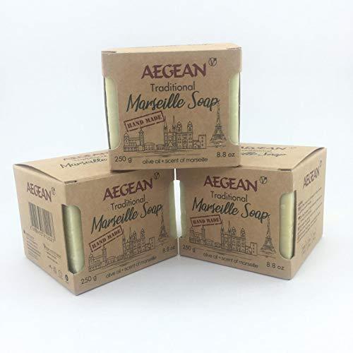 Marseille Soap Bar - Handmade 100% Pure Natural & Vegan