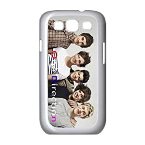 Top Galaxy Case English-Irish Pop Boy Band - One Direction Design for Best Samsung Galaxy S3 I9300 Case (white) by ruishername