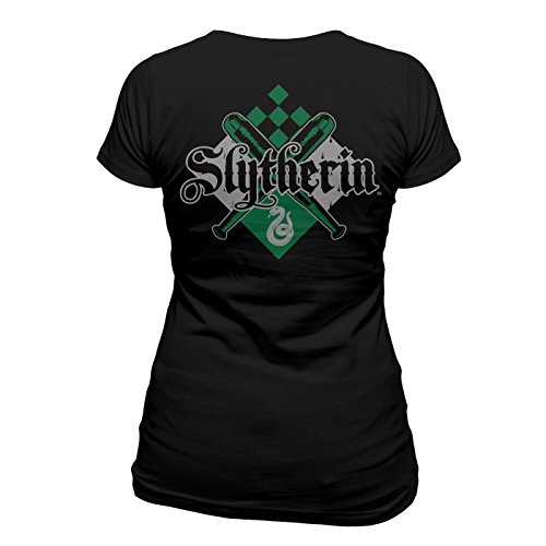 Harry Potter - House Slythern Damen-Shirt
