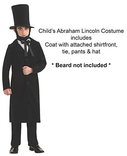 Rubie's Child's Deluxe Abraham Lincoln Costume, Small - http://coolthings.us