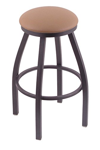 41YI6WRTXVL - Holland-Bar-Stool-Co-802-Misha-25-Counter-Stool-with-Pewter-Finish-and-Swivel-Seat-Allante-Beechwood