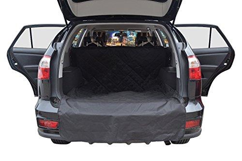 Pettom Auto-Sitzabdeckung hundedecke hunde autositz Wasserdicht Auto-Boot-Liner-Schutz, Anti-Rutsch-Durable SUV Trunk Cargo-Liner für Haustiere, waschbare Hundeauto -Sitzabdeckung