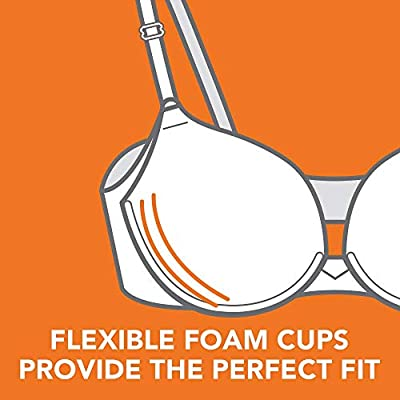Warner's Women's No Side Effects Full Coverage Underwire Bra at Women's Clothing store