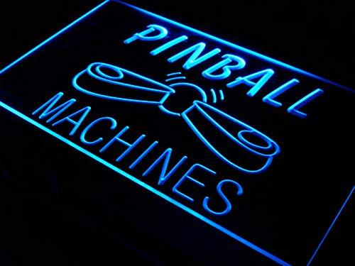 ADVPRO Cartel Luminoso s079-b Pinball Machines Bar Beer Pub ...