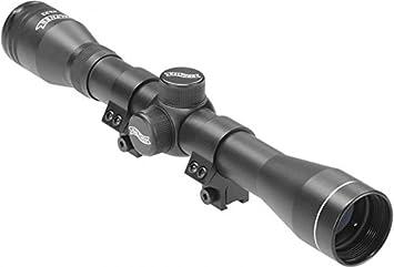 Walther zielfernrohr 4x32 mit montagen für luftgewehre: amazon.de