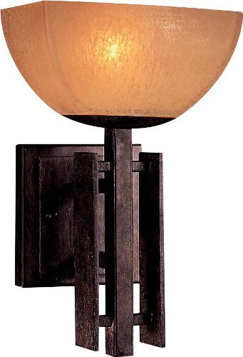 Minka Lavery 6270-357, Lineage, 1 Light Bath Fixture, Iron Oxide - 357 Pl Wall