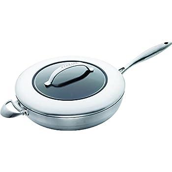 Amazon.com: Scanpan IQ – Sartén con tapa (, Negro: Kitchen ...