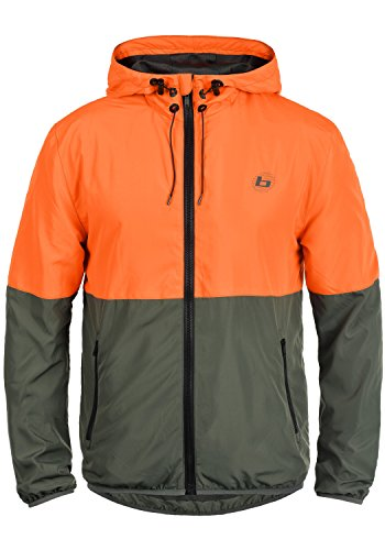 entretiempos 72837 Clown BLEND Orange hombre chaqueta para Minato ATHLETICS de IqxqaR1S