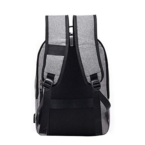 Large Backpack Fashion Men's Computer Anti Bag theft Capacity Black Dhfud qEd6R4x8d