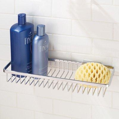 Motiv M552/SN 15.4in. Hotelier Long Deep Basket Bathroom Shelf ()