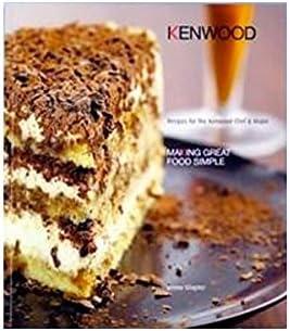 libro de recetas en inglés para Robot de cocina Kenwood Chef: Amazon.es: Hogar