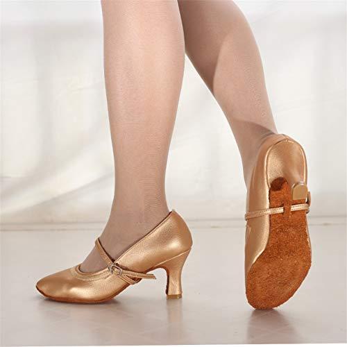 Partito Ballo Shopping Tacco Danza Latino Moda Donna Affari Sexy Morbido Ballo Oro Da Per Scarpe Di Moderna Fondo Con Latino Lavoro Elegante 5wx0RHnqnX