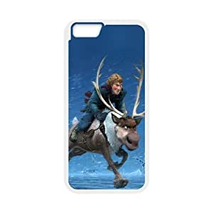 iPhone 6 4.7 Inch Cell Phone Case White ac21 frozen running kristoff disney Hvtle