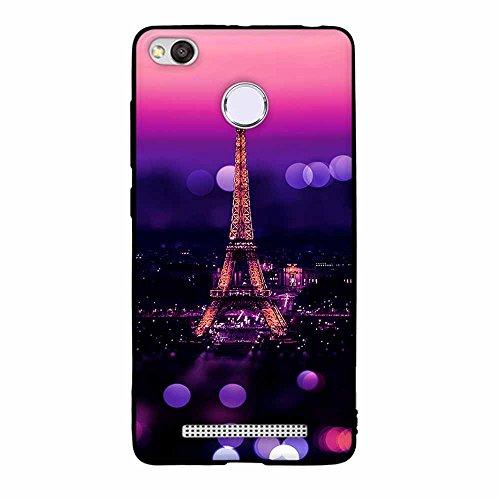 Funda Xiaomi Redmi 3x, FUBAODA [Flor rosa] caja del teléfono elegancia contemporánea que la manera 3D de diseño creativo de cuerpo completo protector Diseño Mate TPU cubierta del caucho de silicona su pic: 15