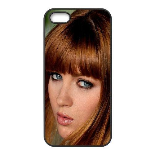 Girl Eyes Hairstyles Hair coque iPhone 4 4S cellulaire cas coque de téléphone cas téléphone cellulaire noir couvercle EEEXLKNBC25327