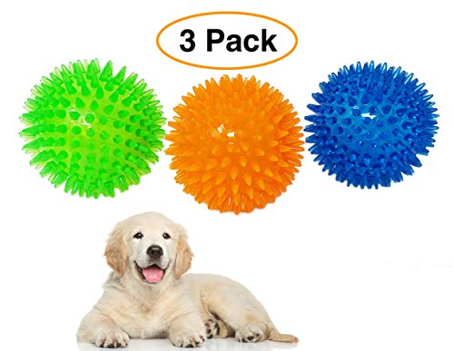 """Pet Solutions Dog Toy Spiky Balls 