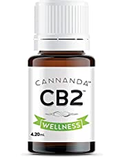 CB2 WELLNESS: EXTRA STRENGTH - Ultra Concentrated CB2 Oil - Helps with Pain & Inflammation / Anxiety & Stress / Stronger Than Hemp Oil / Feel Calm & Relaxed / Rejuvenates / Balances Mood / Enhances Sleep / Boost Immune Function / Made in CANADA