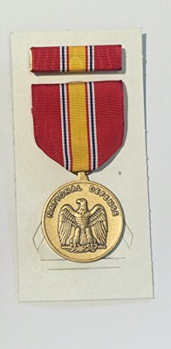 - US Military National Defense Service Medal Set with Ribbon NSN 8455-00-281-3214