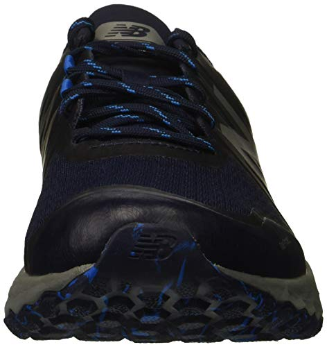New Balance Men's Kaymin V1 Fresh Foam Trail Running Shoe Pigment/Laser Blue 1.5 D US by New Balance (Image #4)