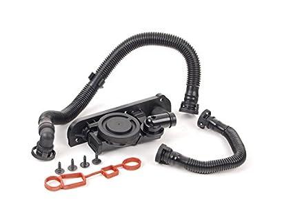 PCV Crankcase Vent Valve Hose Service Kit for VW Jetta Passat A3 A4 Quattro 2.0T