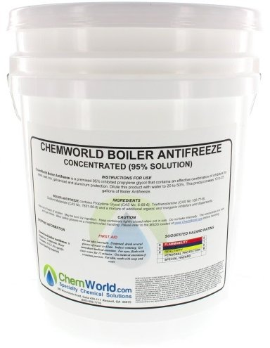 ChemWorld Boiler Antifreeze Concentrate - 5 Gallons by Chemworld