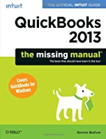 QuickBooks 2013: The Missing Manual Front Cover