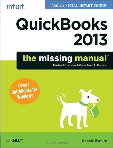 quickbooks 2013 student guide