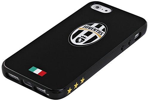 Celly JUVBGEL02 Juventus FC TPU CASE Black IP 5