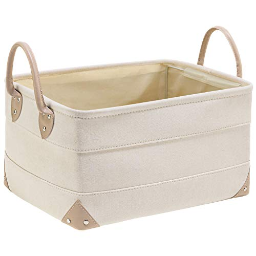 OLLVIA Decorative Fabric Storage Bins Basket…