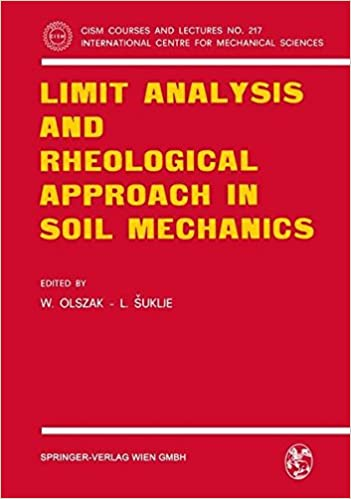 Limit Analysis and Rheological Approach in Soil Mechanics (CISM International Centre for Mechanical Sciences)