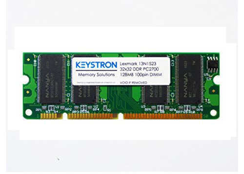 13N1523 128MB 100pin DDR1 Memory Upgrade for Lexmark Printer - X646e Laser Printer