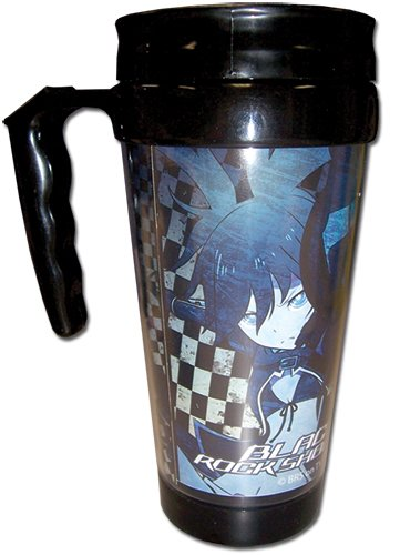 Black Rock Shooter - Black Rock Shooter Tumbler With Handle