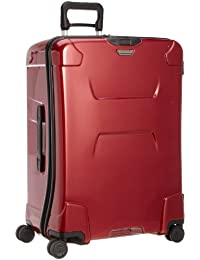 Torq-Hardside Checked Large Spinner Luggage, Ruby