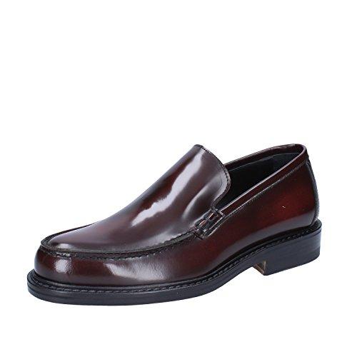 DI MELLA Moccasins/Slip on EU Mens 6 US/39 EU on Burgundy Shiny Leather B076X67SB6 Shoes d8c82c