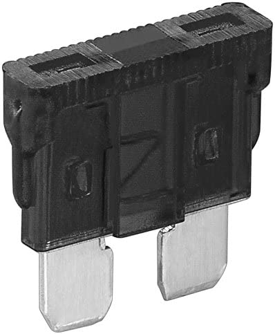 10er Set Fixpoint Kfz Sicherung 1a Schwarz Elektronik